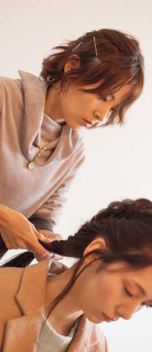 美容室シューケット(Chouquette)代表  新田みどり(Nitta Midori)