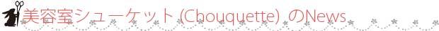 山口県 山口市 美容室・美容院 美容室シューケット(chouquette)からのお知らせ・ニュース