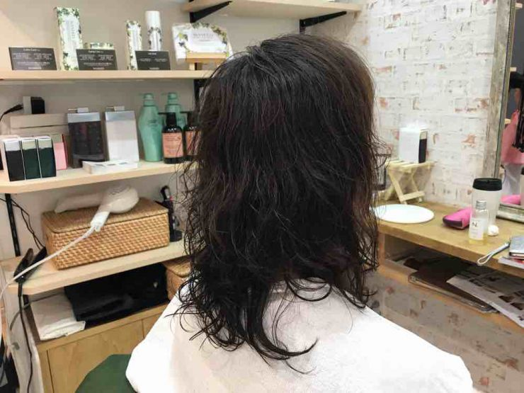 美容室シューケット 縮毛矯正 ストカール ペタンコ ふんわり 自然