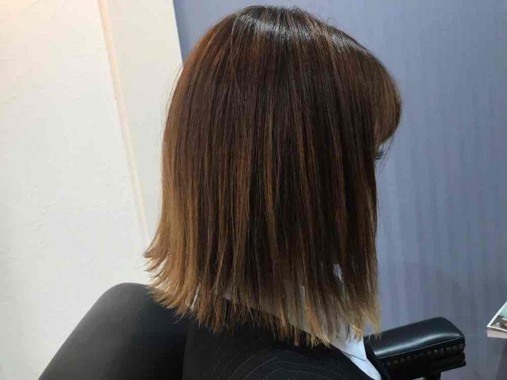 ポリッシュオイル/ウルティア/ストカール/ボサボサ/傷ませたくない/傷まない/縮毛矯正/自然な前髪矯正/ストパ