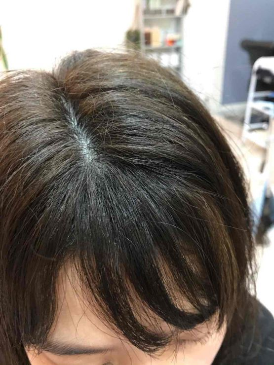 山口市 美容室 美容院 シューケット 前髪 割