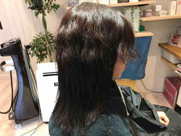 山口市 美容室 美容院 シューケット/アイロン/縮毛矯正/伸びにくい/クセが残る/ジリジリ/チリチリ